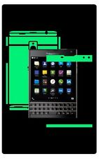 Glow in Dark Skin Protector,Full Body Vinyl Decal Case Wrap, Blackberry Passport