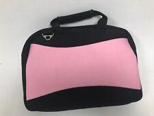 "Neoprene 10.1"" ipad Tablet ASUS Transformer Neoprene Sleeve #Z97 Black & Pink"