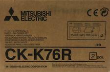 "Mitsubishi CK-K76R 6"" Paper  Ink Set for CP-K60DW-S Photo Printer #CK-K76HG"