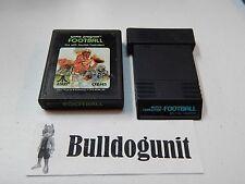 Game Lot of 2 Football & Super Challenge Football Atari 2600 Games