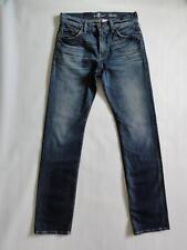 7 FOR ALL MANKIND SLIMMY SLIM STRAIGHT JEANS, Seaside vintage, Size 30, MSRP$219