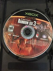 XG37 Tom Clancy's Rainbow Six 3 (Microsoft Xbox, 2003)