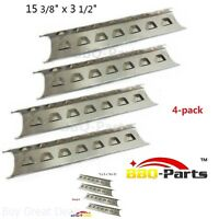 Gas Grill Heat Shield Plates Stainless Steel BBQ Parts - Fits Multiple Brands