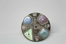 JACOB & CO 40MM GREEN MOTHER OF PEARL W. PASTEL ACCENT 5 TIME ZONE DIAL JCM54PDA
