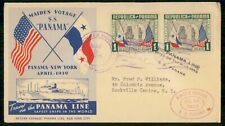 Mayfairstamps Panama 1939 Maiden Voyage SS Panama Cover wwf_51343