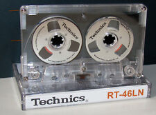 "Souvenir Reel to Reel ""Technics"" Silver cassette tape self-made !"