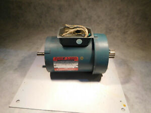 Reliance P56H7213P 3/4HP 1725RPM Electric Motor 3ph Brake Mount
