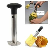 Stainless Steel Pineapple Peeler Corer Slicer Easy Kitchen Gadget Fruit Cutter