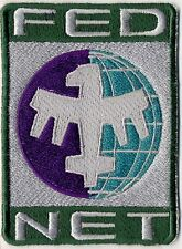 Starship Troopers Fed Net Fully Embroidered Iron on Patch