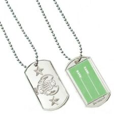 KIDS SOLDIER DOG TAGS 12 PACK ARMY BIRTHDAY PARTY FAVOURS NECKLACE GIRLS BOYS
