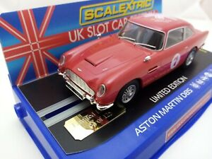 Rare Scalextric C3722sf Aston Martin DB5 UKSF 2017 limited edition #65 of 125