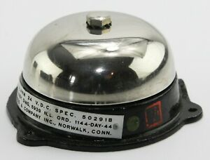 24V warning bell (Bailout bell) for American aircraft (GD1)