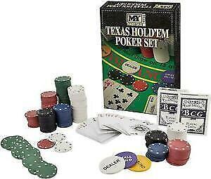 M.Y Texas Hold'em Poker Set 200 Chips Brand New
