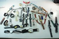 Konvolut Uhren ungeprüft teilweise defekt Bastler Sammler 2 Kg W-1803