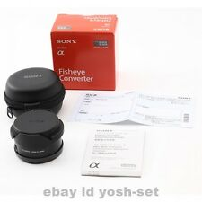 SONY VCL-ECF2 Fisheye Converter for E 16mm F2.8, E 20mm F2.8 From Japan F/S