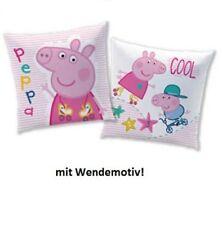 Peppa Pig Wutz Kissen Kuschelkissen ca. 40x40 cm