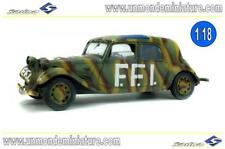 Citroën Traction FFI 1944 Militaire SOLIDO - SO 1800902 - Echelle 1/18