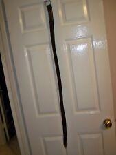 "Timberland 40"" dark brown genuine leather belt"
