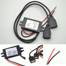 Dual USB Car 12V-5V 3A Inverter Female Hard Wired Charger for GPS Tablet Phone
