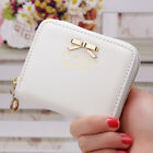 Hot Women Ladies Small Zip Leather Wallet Card Holder Coin Purse Clutch Handbag