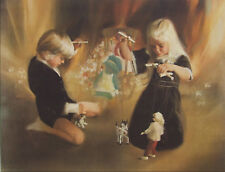 FANTASY & FAIRYTAILS DONALD ZOLAN 27 X 22 HAND SIGNED #742 LITHOGRAPH ART NEW