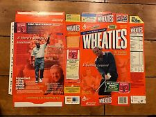ARNOLD PALMER WHEATIES CEREAL BOX FACTORY FLAT UNUSED NEVER FOLDED