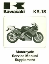 Kawasaki KR1KR1-S Service & Dealer Parts  Manual