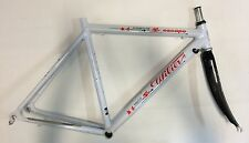 Telaio bici vintage Wilier Triestina alluminio carbonio road bike frame alu
