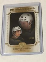 2019-20 SERIES 2 UD PORTRAITS GOLD /99 CONNOR CLIFTON P-57 BRUINS