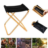 Folding Camping Chairs Portable Hiking Travel Fishing Outdoor Beach Picnic Stool