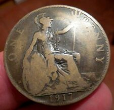 1917 One Penny King George V th