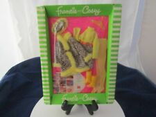 VINTAGE 1970 BARBIE DOLL -FRANCIE AND CASEY #1245 SNAKE CHARMERS OUTFIT NEW IN P