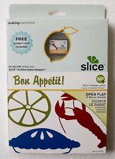 New Making Memories Slice Design Card  - Bon Appetit