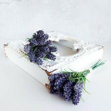 Artificial Lavender Bundle (6 Stems) Purple 18cm or 24 cm long