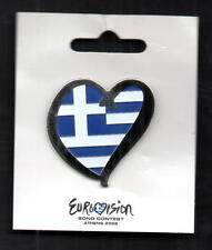 EUROVISION SONG CONTEST in Athens Year 2006, RRR Rare Pin Country : GREECE, No 1