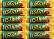 Lotto Dark Chocolate Bar with Rum Flavoured Nut Filling 10 Pack 10 x 25g