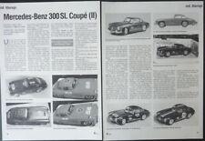 BBURAGO CHRONIK MERCEDES-BENZ 300 SL COUPE (II) in 1-18... von 1999