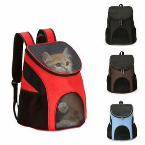 LIGLAMOROUS Pet Puppy Dog Cat Backpack Carrier Portable Breathable Travel Bag