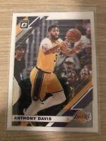 2019-20 Panini Donruss Optic #90 Anthony Davis Los Angeles Lakers