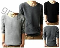 Fashion Cardigan Jacket Korean Jumper Long Sleeve Sweater Men Knit Pullover Coat