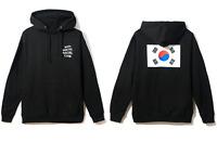 DS Anti Social Social Club ASSC white Logo Korean Flag The Drive Black Hoodie