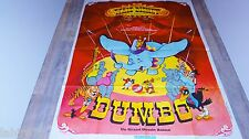 DUMBO  !  affiche cinema animation bd disney cirque