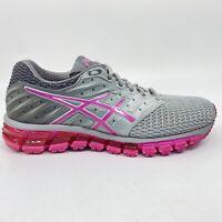 ASICS Womens Gel Quantum 180 2 MX Shoes Pink Gray Size 6.5