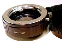 Focal Reducer Lens Booster Adapter Minolta MD to Sony E mount α6300 α6500 camera