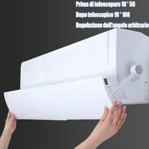 Condizionatore D'aria Shield Cold Deflettore Anti Diretto Blowing a Scomparsa
