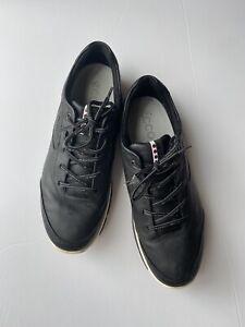 ECCO Men's Gore-TEX Golf Shoe, Black, Size 8