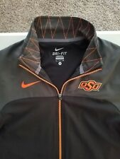 Men's Nike Dri Fit Full Zip OK State Cowboys Jacket Size S