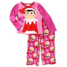Elf on the Shelf Girl's Pajamas Target SMALL Pink Holiday Xmas
