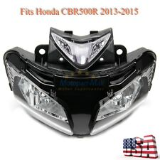 Premium Headlight Head Lamp Assembly Housing For Honda CBR500R 2013 2014 2015 US