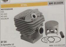 11220201209 CILINDRO E PISTONE COMPLETO MOTOSEGA STIHL 066  MS 660 magnum Ø 54